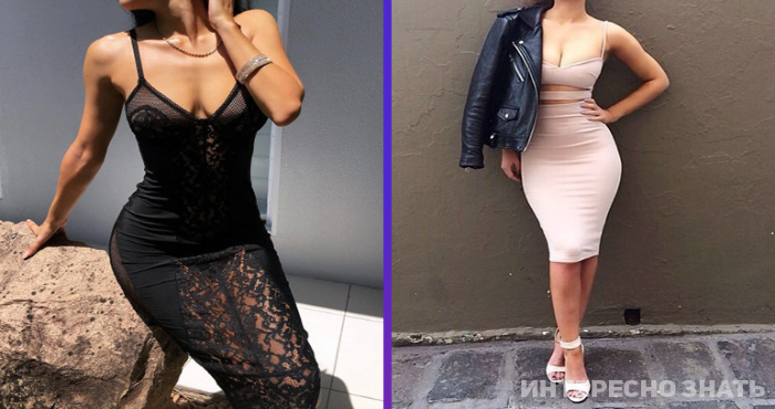 15 облегающих платьев, в которых вы будете находиться в центре внимания каждого мужчины