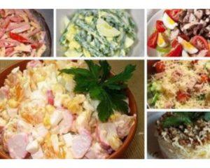 ТОП-7 вкусных салатов к Новому году!