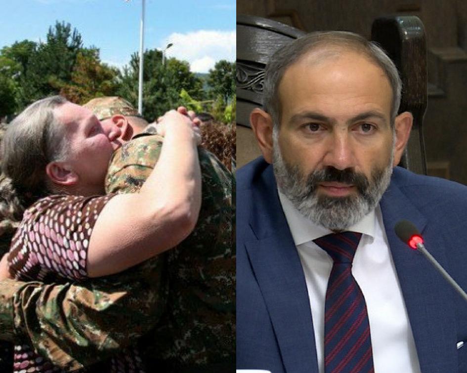 Լավ լուր  զինծառայողների  համար. պետությունը  սպասված որոշում է կայացրել