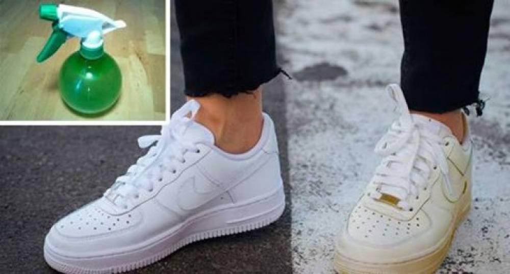 Պարզ հնարք՝ կեղտոտված սպիտակ կոշիկները մաքրելու համար