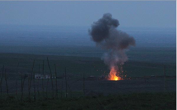 ՇՏԱՊ. վատ լուր, տեսեք ինչ են արել տականք ադրբեջանցիները գիշերը սահմանին. հրատապա գրառումով Արծրուն Հովհաննիսյանը տեղեկացրեց